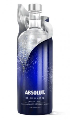 Absolut london limited edition 0. 7l (40% vol. ) absolut vodka.