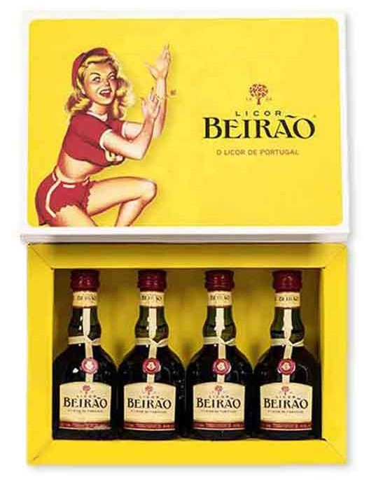 Licor Beirao Minitures 50ml
