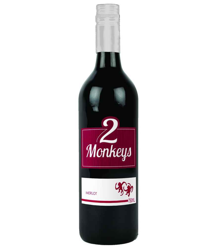 2 Monkeys-merlot
