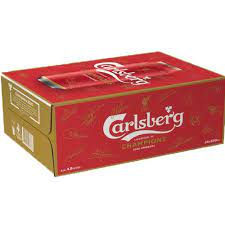 Carlsberg Limited Edition Liverpool Cans Best Before Apr 21