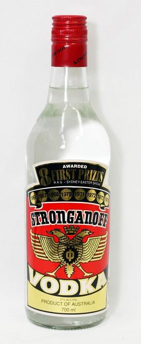 Stroganoff  Vodka