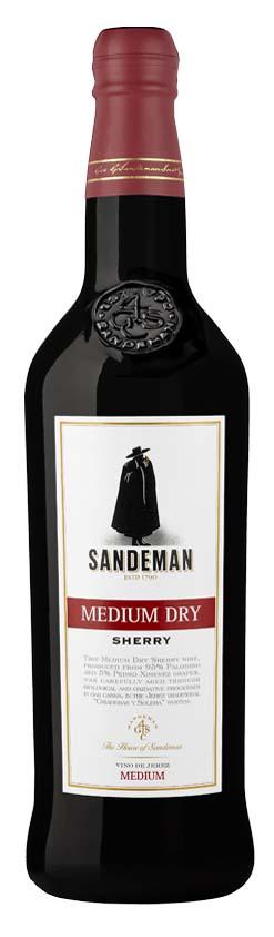 Sandeman Medium Dry Sherry