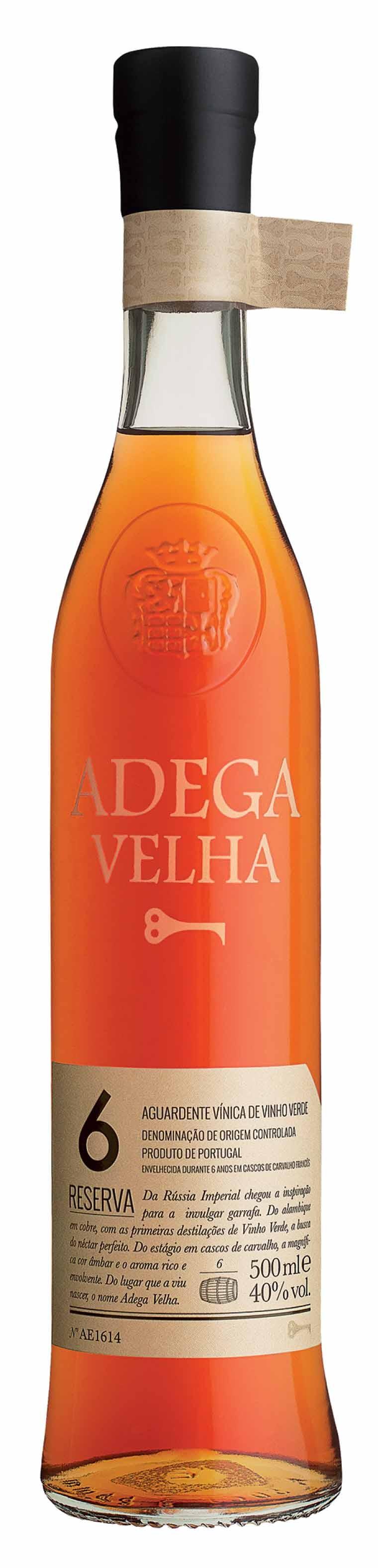 Adega Velha Aguardente 6 Years Old
