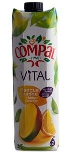 Compal Vital Mango Orange 1Lt