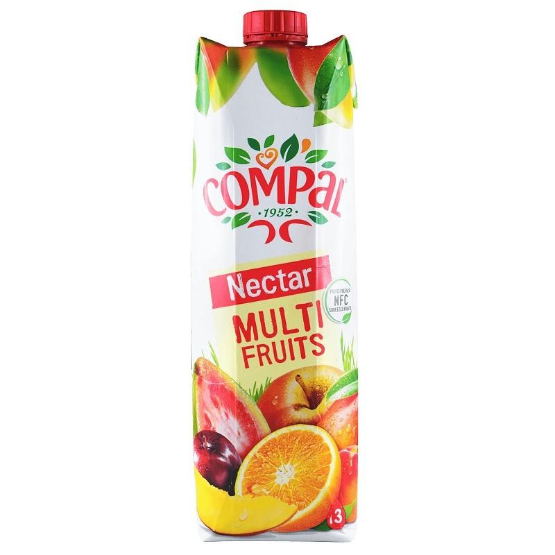 Compal Multi Fruits 1Lt
