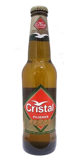 Cristal Pilsner Cerveza