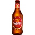 Carlton Draught Stubbies 375ml (case 24)