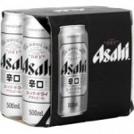 Asahi Super Dry Cans 500ml (case 24)