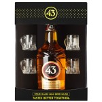 Licor 43 Mini Beer Glass Gift Pack
