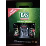 Dab Gift Pack 4 X 330ml And Glass (case 4)