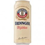 Erdinger Weibbier Cans 500ml (4 pack)