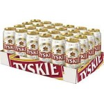Tyskie Polish Beer-500ml Can (4 pack)
