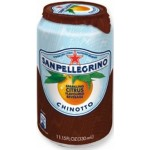 San Pellegrino Chinotto Cans 330ml (case 24)
