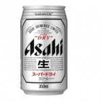 Asahi Super Dry Cans 350ml (case 24)