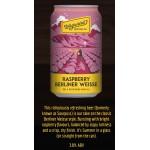 Wayward Brewing Co Raspberry Berliner Weisse (case 24)