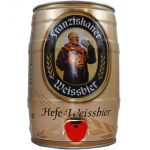 Franziskaner Naturtrub 5LT Mini KEG Best Before End Nov 2015 (case 2)